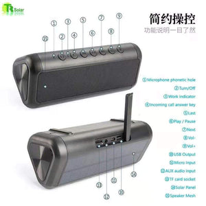 Solar Power Bank 20000MAH/ Solar speaker with bluetooth