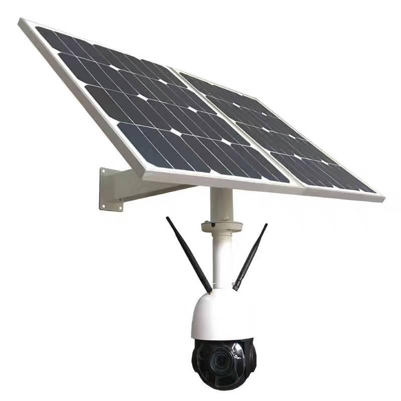 Solar power Wireless 4G P2P PTZ High Definition Video Surveillance Camera