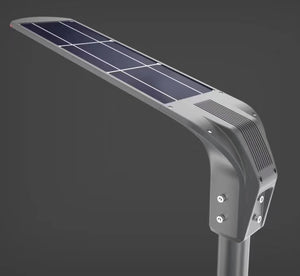 All-in-one solar street lights