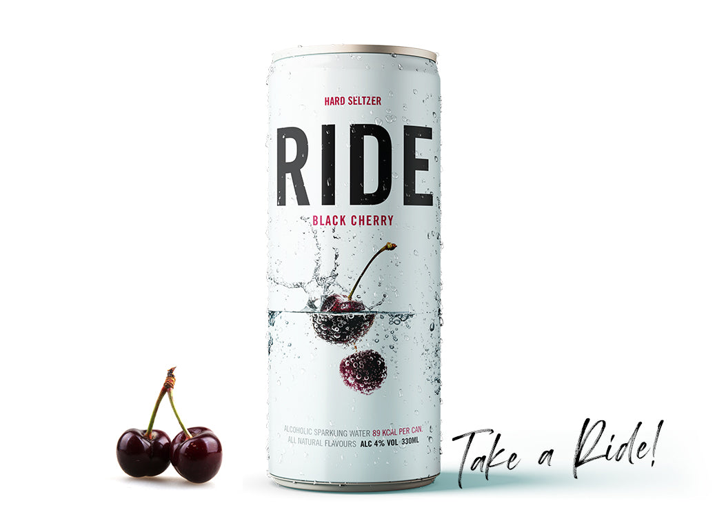 Case of 12 x 330ml Ride Black Cherry 4%