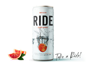 Case of 24 x 330ml Ride Blood Orange 4%