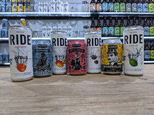Ride and Beer Mixed case 12 x 330ml cans