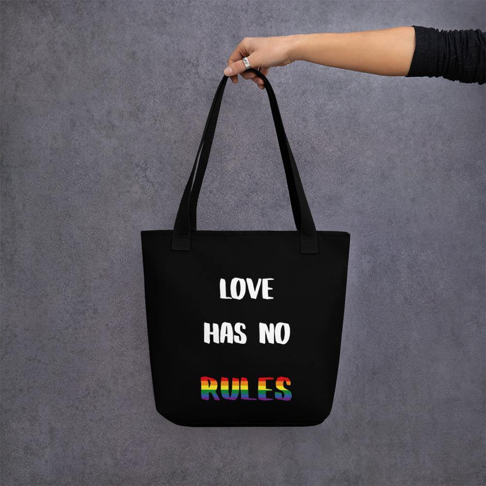 love has no rules tasche