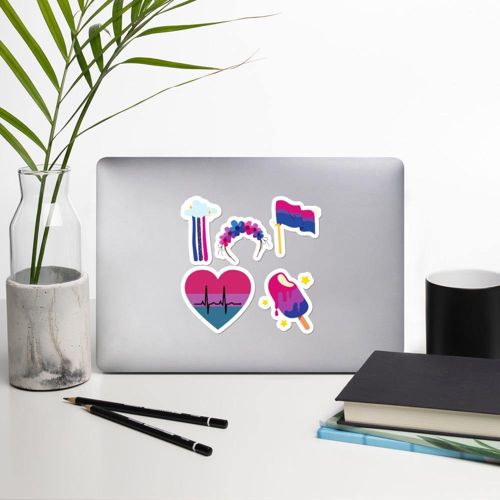 Bisexuell Sticker Pack - Queerr