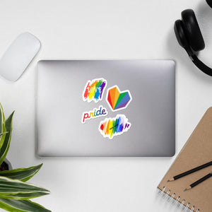 Gay Flag Sticker Pack - Queerr
