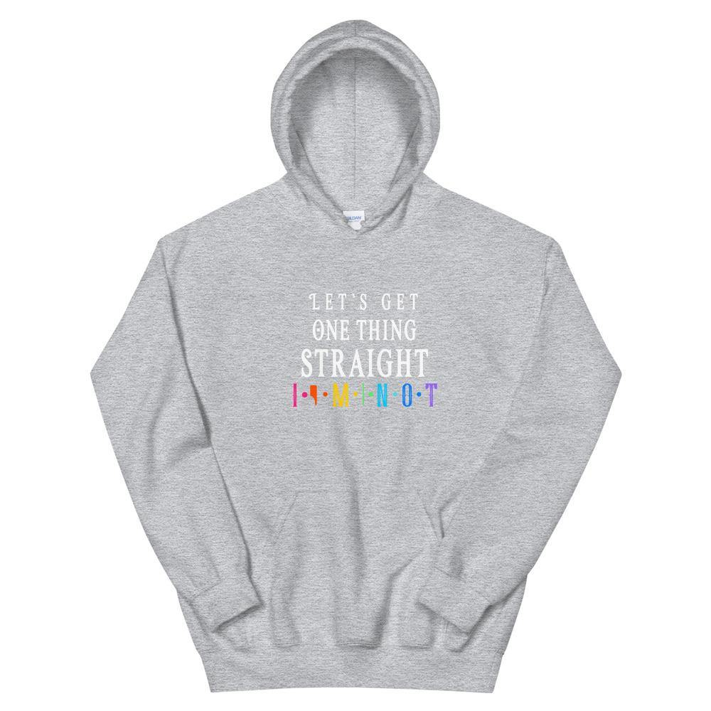 Lets get one Thing straight Hoodie