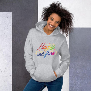 Happy and free Hoodie