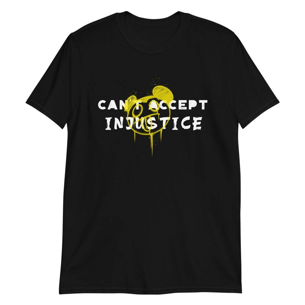 Can't accept Injustice T-Shirt - Queerr