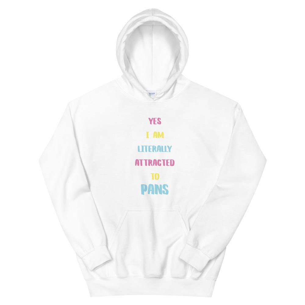 Attracted to Pans Hoodie - Queerr