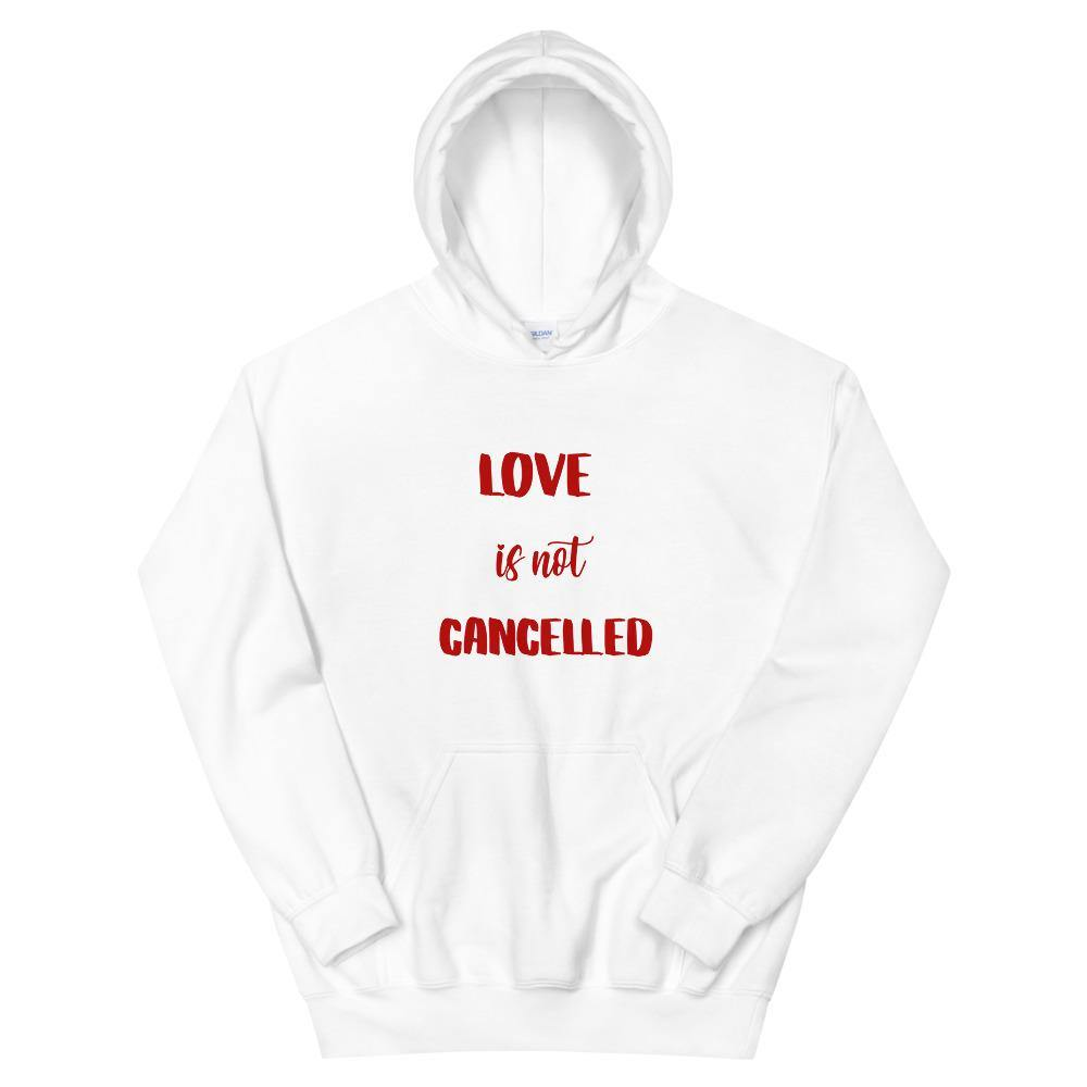 Love is not cancelled Hoodie - Queerr