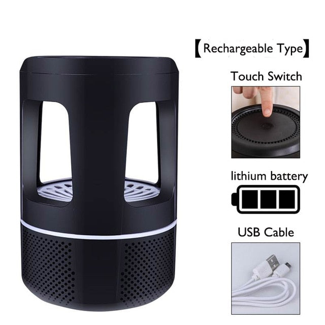 Rechargeable Wireless Mosquito Killer Lamp (2 for $36 ea)