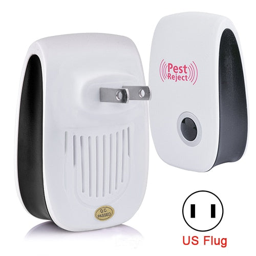 4Pcs Pest Reject Electronic Ultrasonic Pest Repellent US Plug (50% off ENDS SOON!)