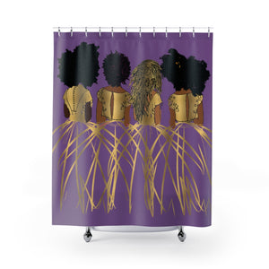 Royal Shower Curtains-Purple