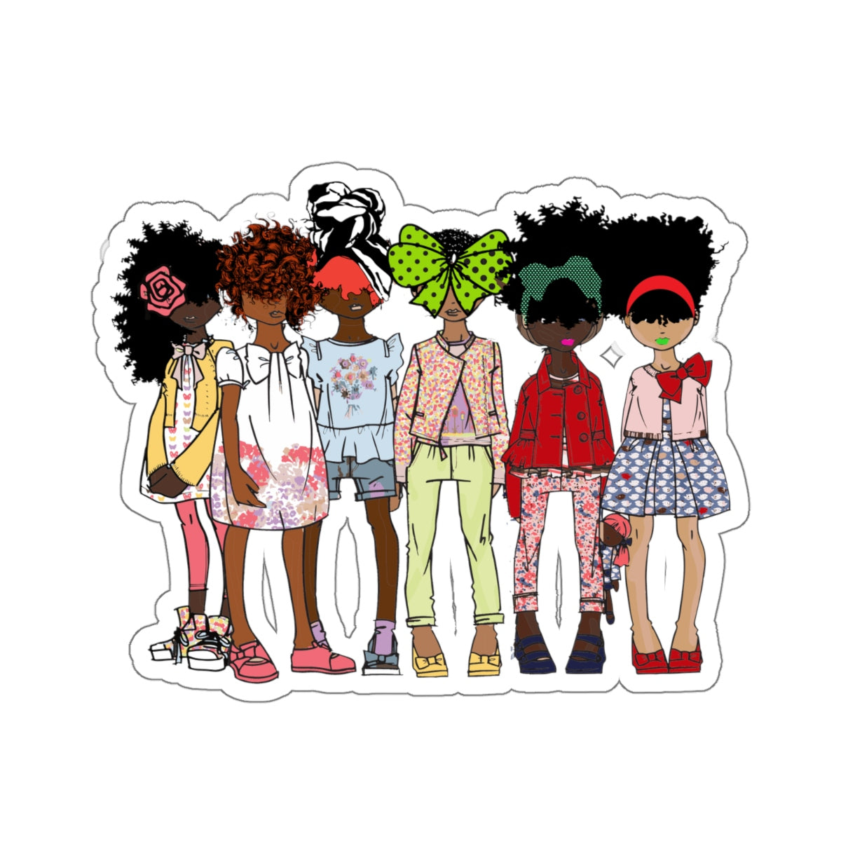 Misfits Kiss-Cut Stickers