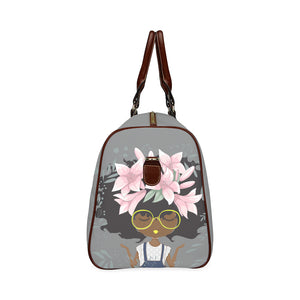 Lily Grey Travel Bag-Small