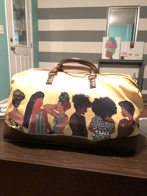 SQUAD YELLOW TRAVEL BAGS