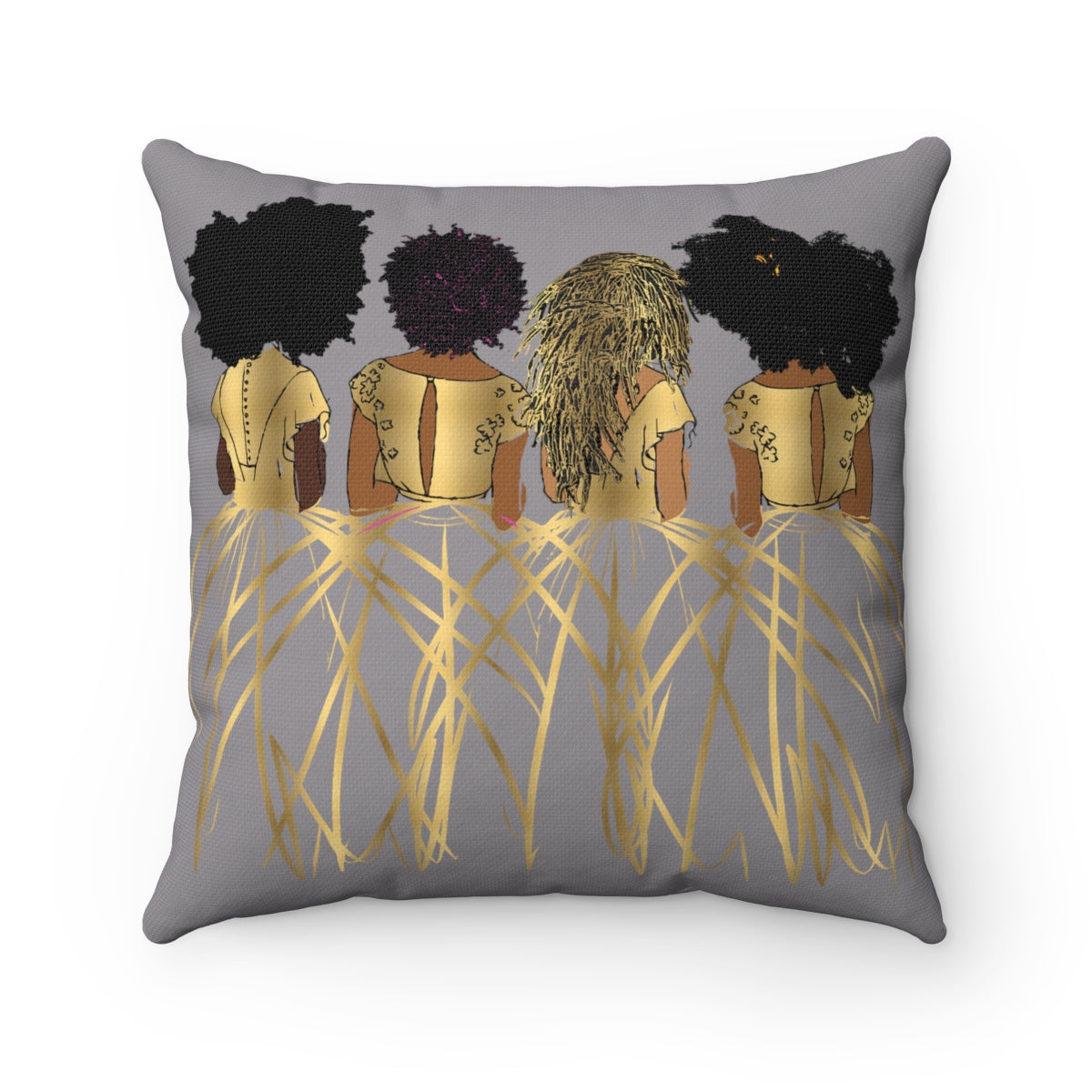 Royal Bond Pillows-Grey