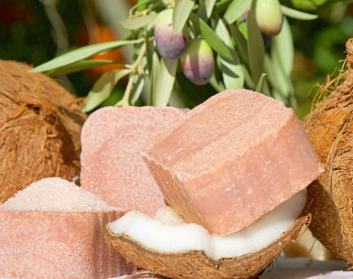 Pink Himalayan Salt Soap (Pack of 3 Bars)