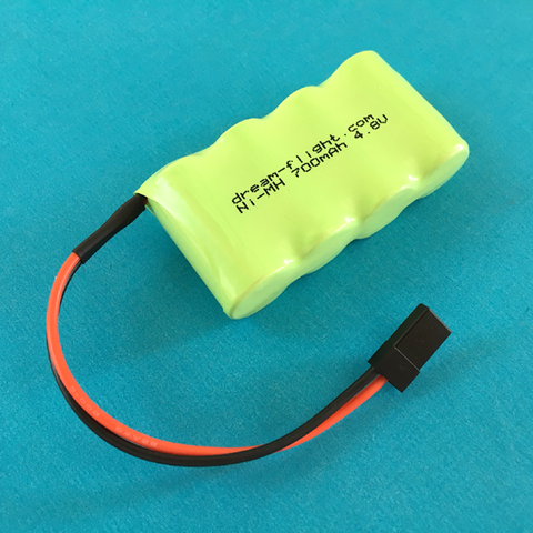4.8V NiMH 700mAh Rx Battery (Ahi)