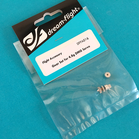 Gear Set for 4.8g DMG Servo (Alula-TREK, Libelle)