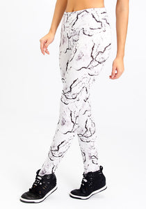 Marble Full Length Leggings - Fashion Brazil