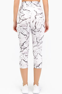 Marble 3/4 Leggings - Fashion Brazil