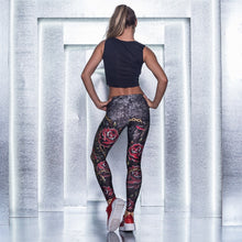 Load image into Gallery viewer, Labella Mafia Roses and Chains Legging - Fashion Brazil