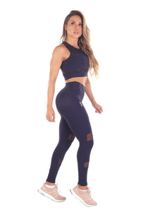 Hype Mesh Active Crop - Fashion Brazil