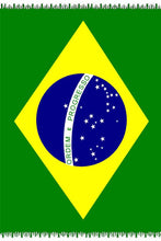 Load image into Gallery viewer, Brazil Flag Sarong - Fashion Brazil