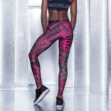 Load image into Gallery viewer, labella mafia mandala non slipping leggings