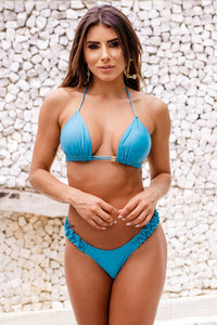 Blue Bikini Set - Fashion Brazil