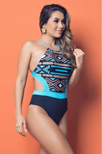 Load image into Gallery viewer, Aztec One Piece Swimsuit