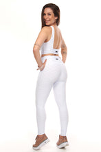 Load image into Gallery viewer, White Booty Lift Leggings - Fashion Brazil