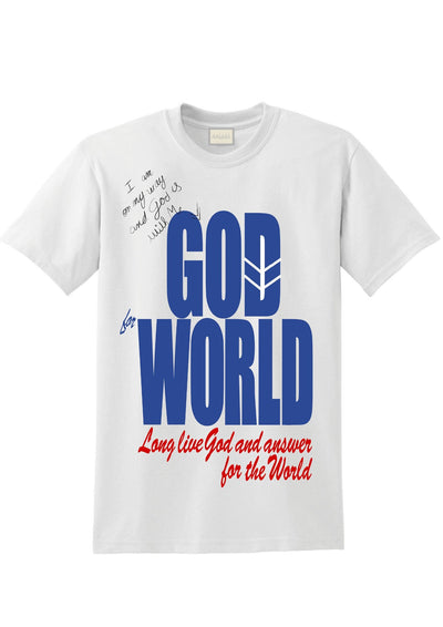 GOD FOR WORLD
