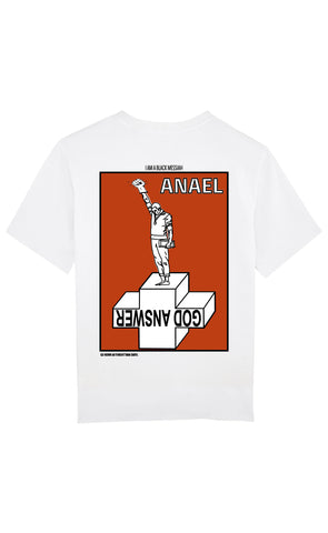 ANGE 2087 - GOD ANSWER 68' TEE-SHIRT