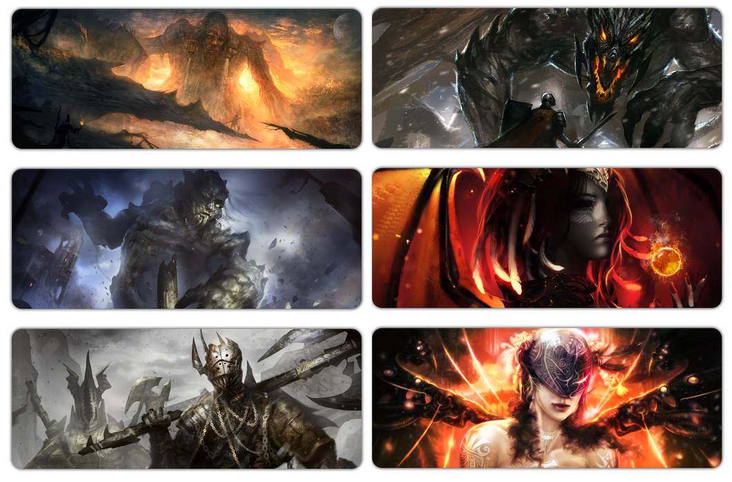 6 Player Playmats (ships Jan 2021, US ONLY)