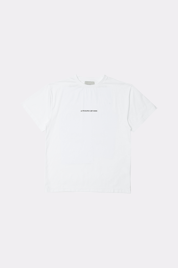 SUPPLY ARTWORK TEE - Liam Hodges LTD
