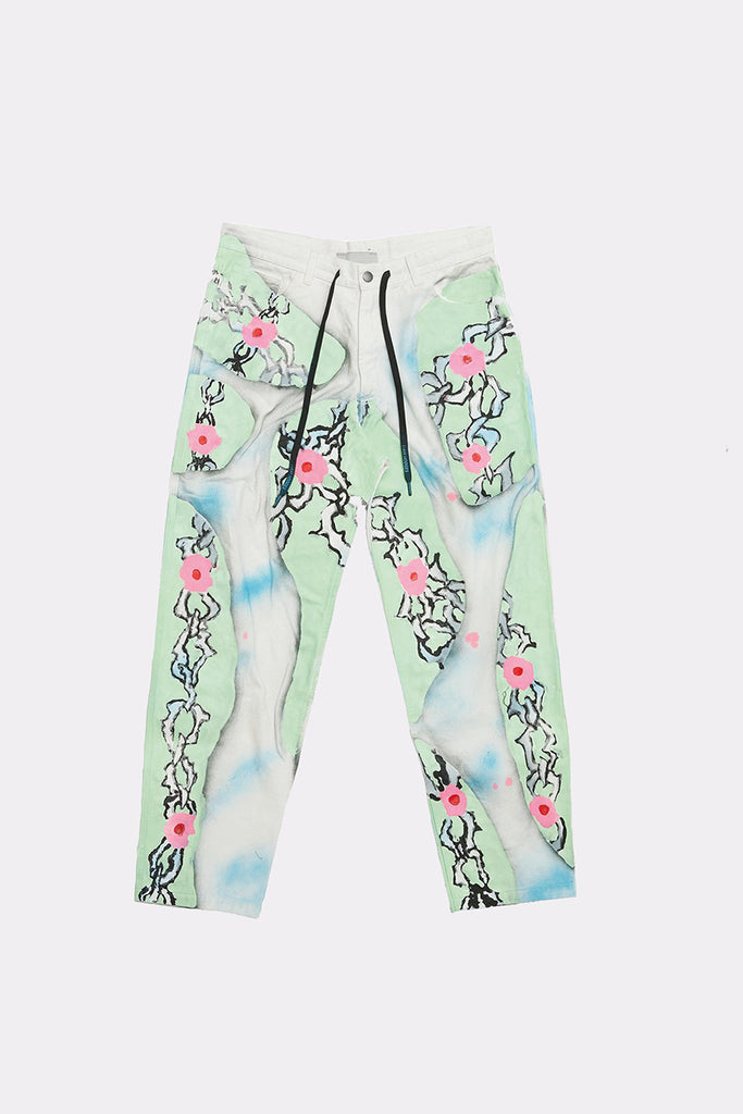 ALFIE PAINTED JEANS - Liam Hodges LTD