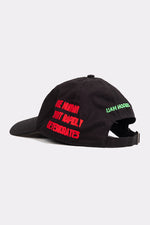 BLACK BURNS CAP