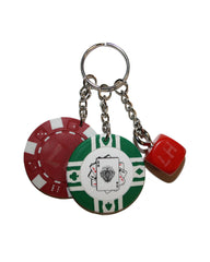 CHIPS & DICE KEYRING - Liam Hodges