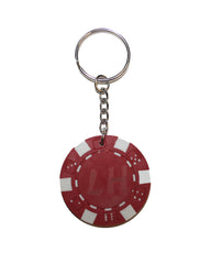 LIAM HODGES - CHIP KEYRING RED