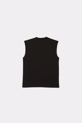CYBER METAL SLEEVELESS TEE