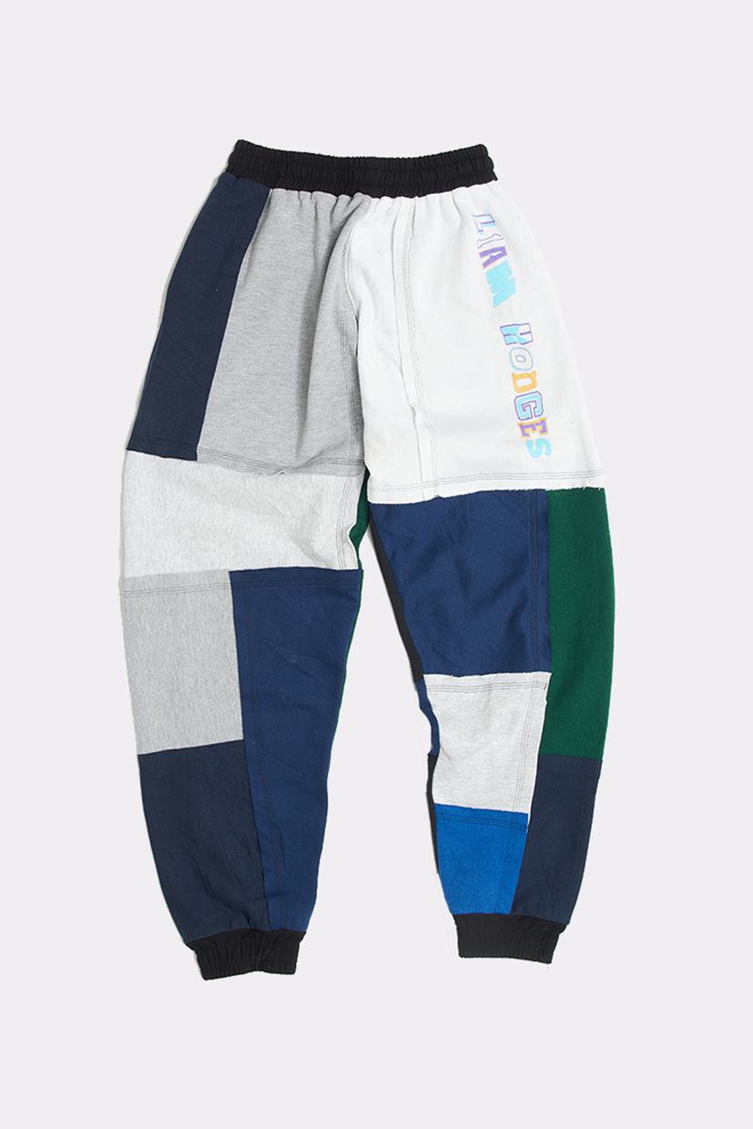 OVERPRINT PATCHWORK JOGGERS - SMALL