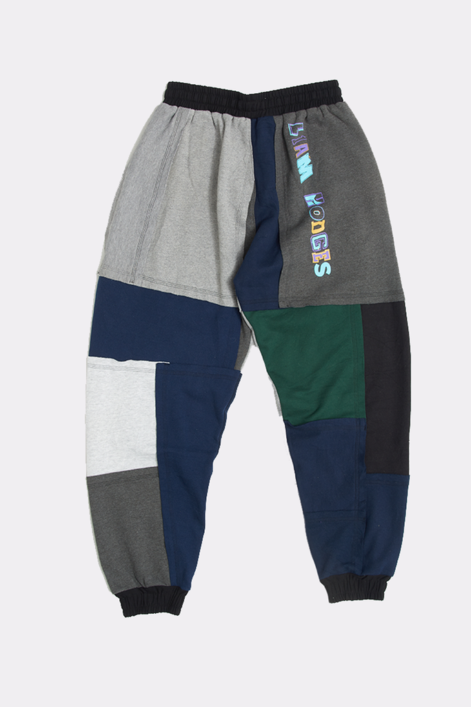 OVERPRINT PATCHWORK JOGGERS - MEDIUM