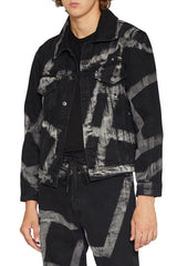 LIAM HODGES - VERSION.01 DENIM JACKET - BLACK