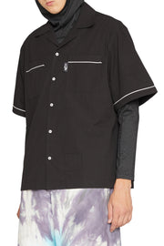 LIAM HODGES - BOWLING SHIRT BLACK