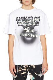 LIAM HODGES - MUTATIONS IN 4D TEE - WHITE
