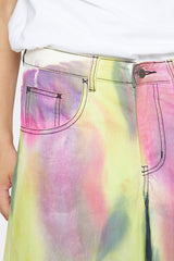 LIAM HODGES - SPRAY DYED DENIM SHORTS