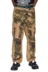 ACID BURN CAMO TROUSERS