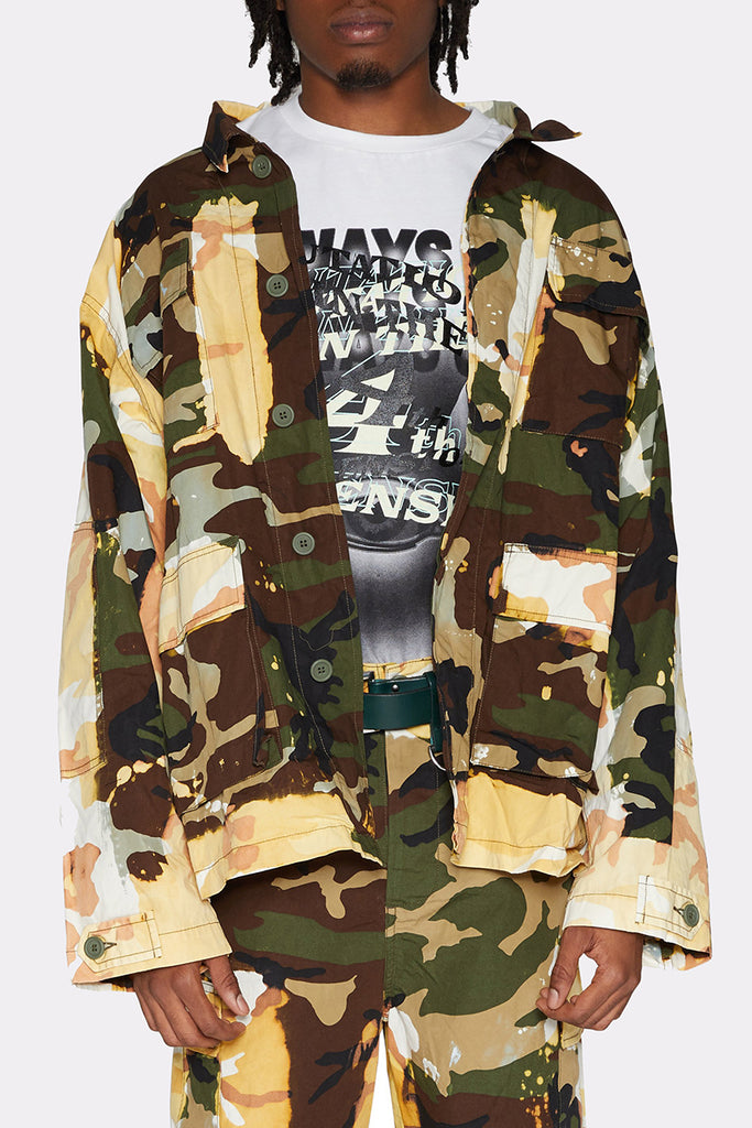 ACID BURN CAMO JACKET - Liam Hodges LTD